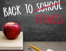 Back to School, Back to Fitness
