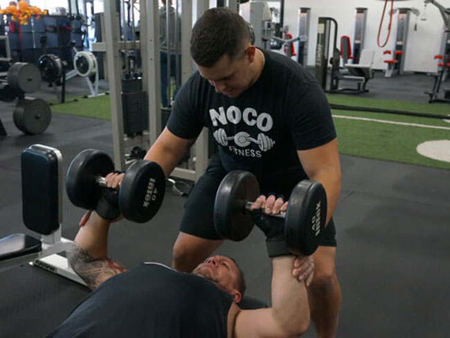 Personal Training with your fitness coach at NoCo Fitness in Greeley Colorado