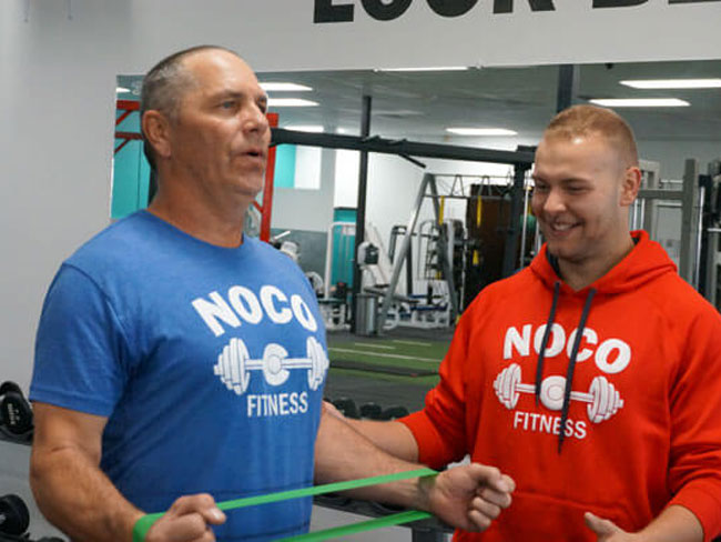 Online Personal Training is available now at NoCo Fitness