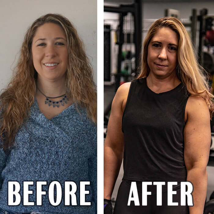 Before and After Results for Shanna